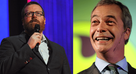 Controversial comedian Frankie Boyle took exception to comments made by fellow comic Andrew Lawrence (Picture: Getty Images)