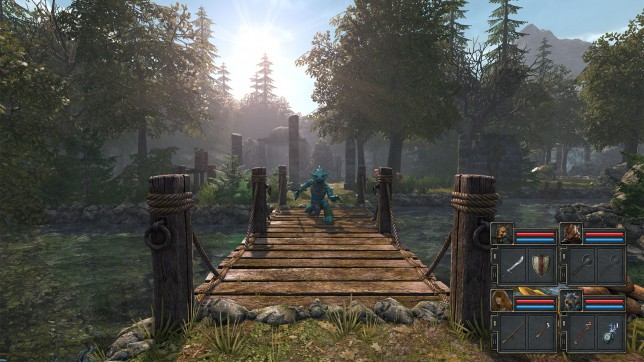 Legend Of Grimrock II (PC) - tile-based combat