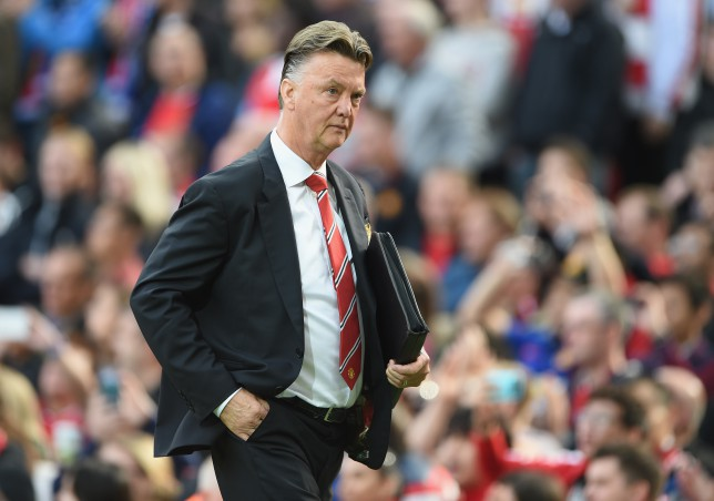 Louis van Gaal's revealed he will change Manchester United's formation (Picture:Getty)