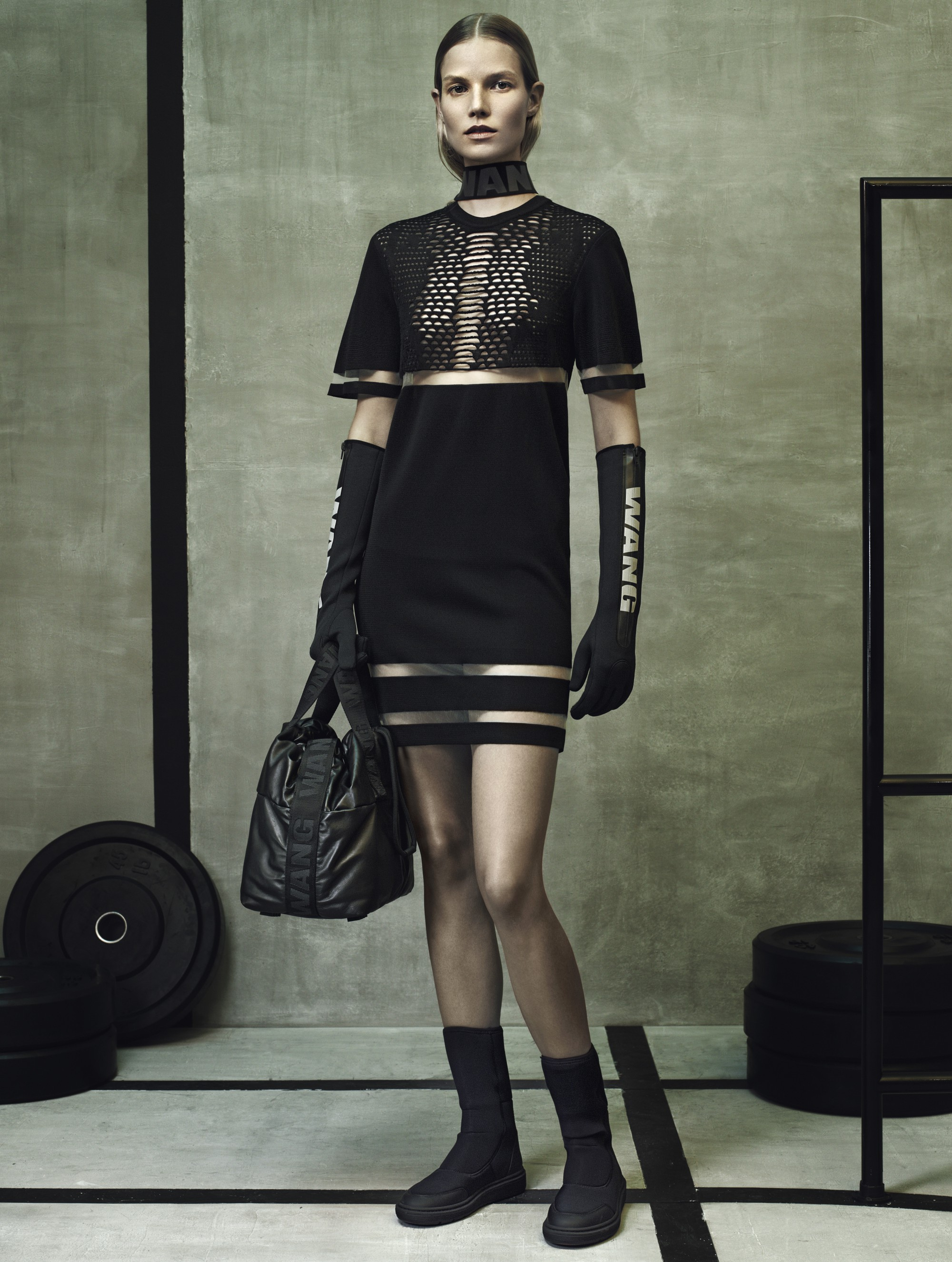 The reality of shopping Alexander Wang x H&M today