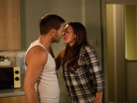 EastEnders spoiler pics: Dean Wicks makes a move on Stacey Branning