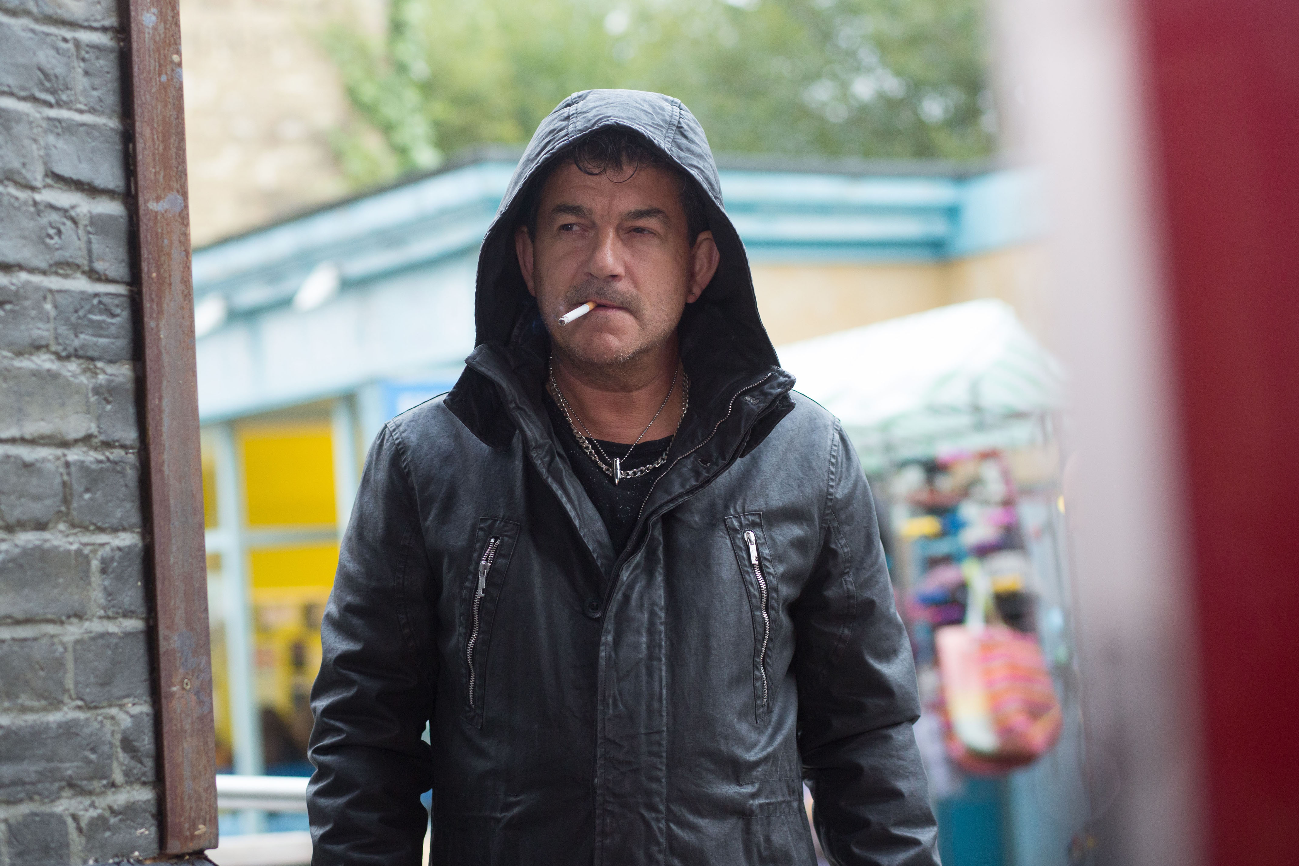 EastEnders spoiler pictures: Nick Cotton is back and wastes no time in giving a shocked Ronnie and Charlie an ultimatum