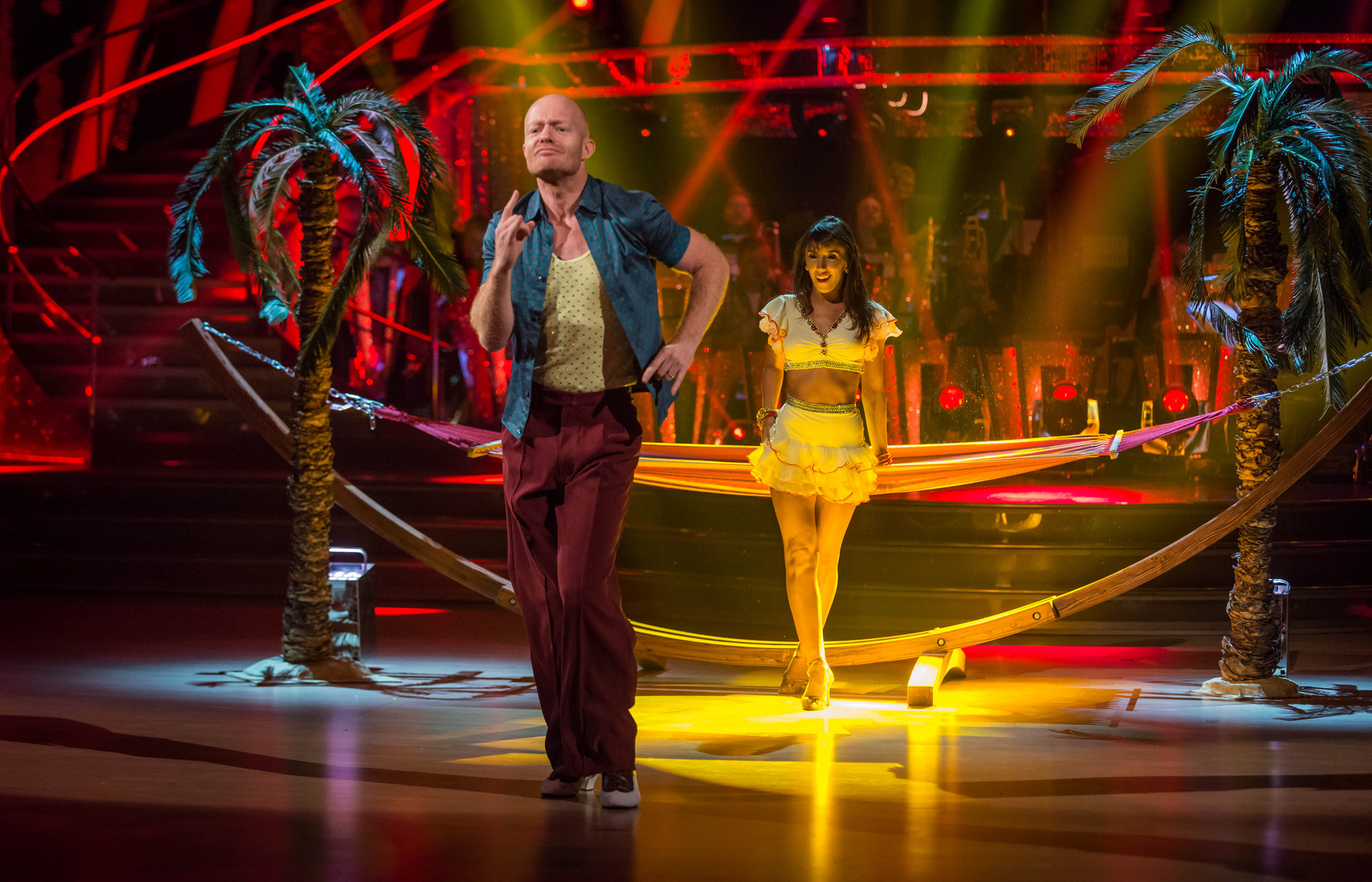 Strictly Come Dancing: Jake Wood gets standing ovation (and praise from Craig) after stunning salsa