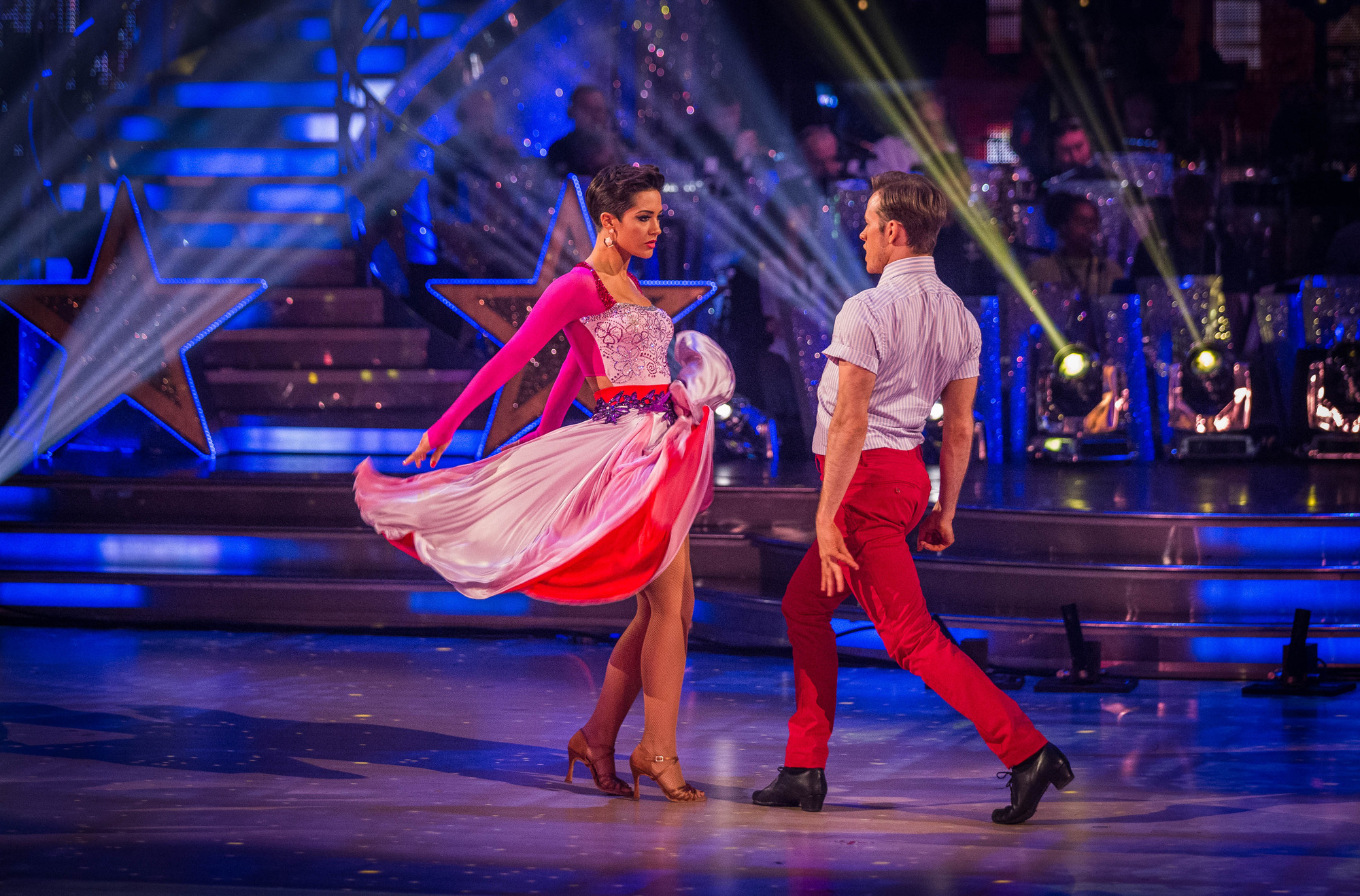 Strictly Come Dancing 2014: Frankie Bridge scores the first 10 of the series