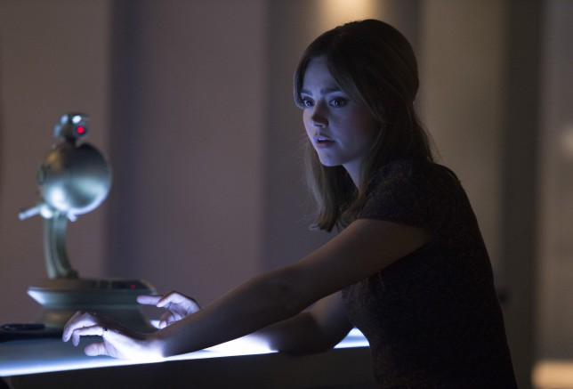 Doctor Who: Series 8 Death in Heaven - has Jenna Coleman left?