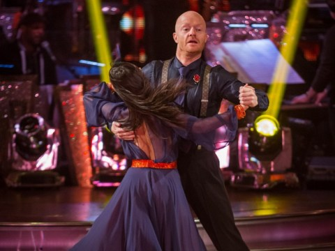 Strictly Come Dancing 2014: Jake Wood leaves the competition standing with his energetic quickstep