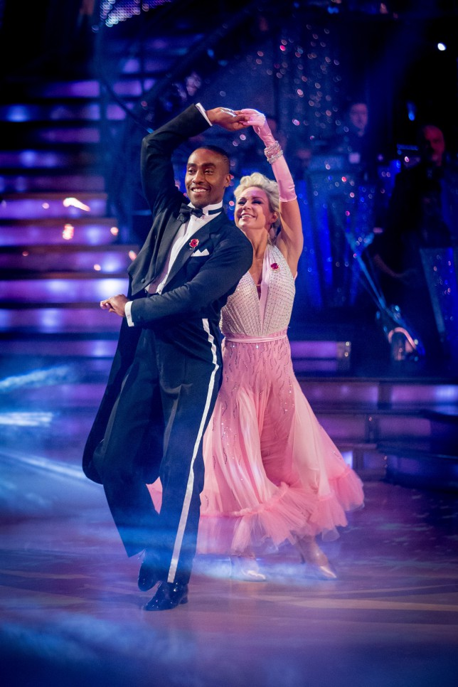 Strictly Come Dancing 2014 Kristina Rihanoff, Simon Webbe (Picture: BBC)