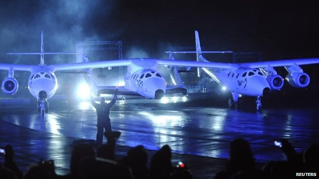 Virgin Galactic SpaceShipTwo test flight crash kills one, injures one
