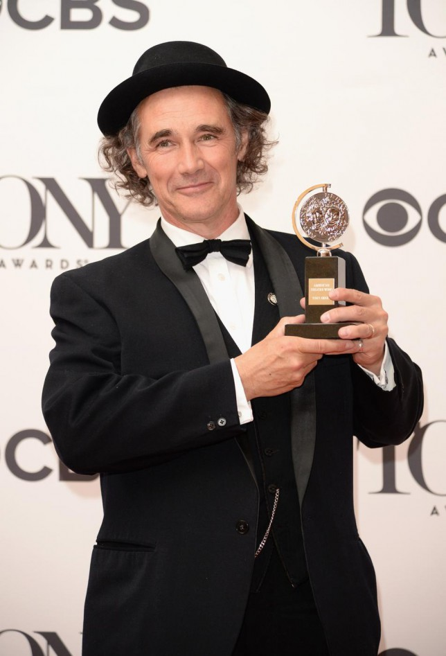 Mark Rylance to play the Big Friendly Giant in Steven Spielberg's new BFG film