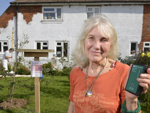 Grandmother spends £4,000 on anti-Wi-Fi paint on her home
