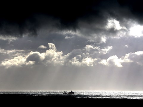 Pictures: Hurricane Gonzalo strikes Britain