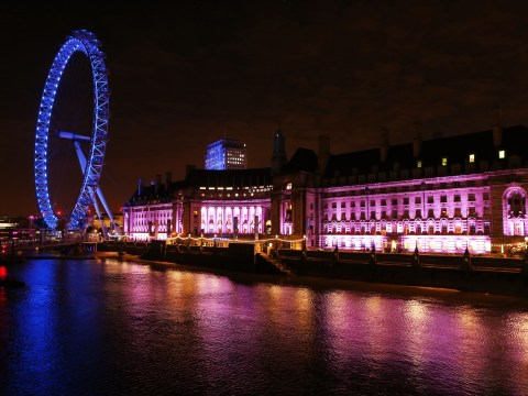 Pictures: Iconic landmarks turn pink to support Breast Cancer Campaign