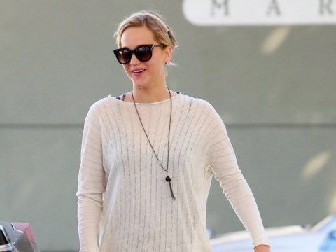 J-Law turns to dad after split from Coldplay's Chris Martin