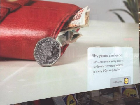 Lidl responds to Sainsbury's 'fifty pence challenge' gaffe in brilliant style