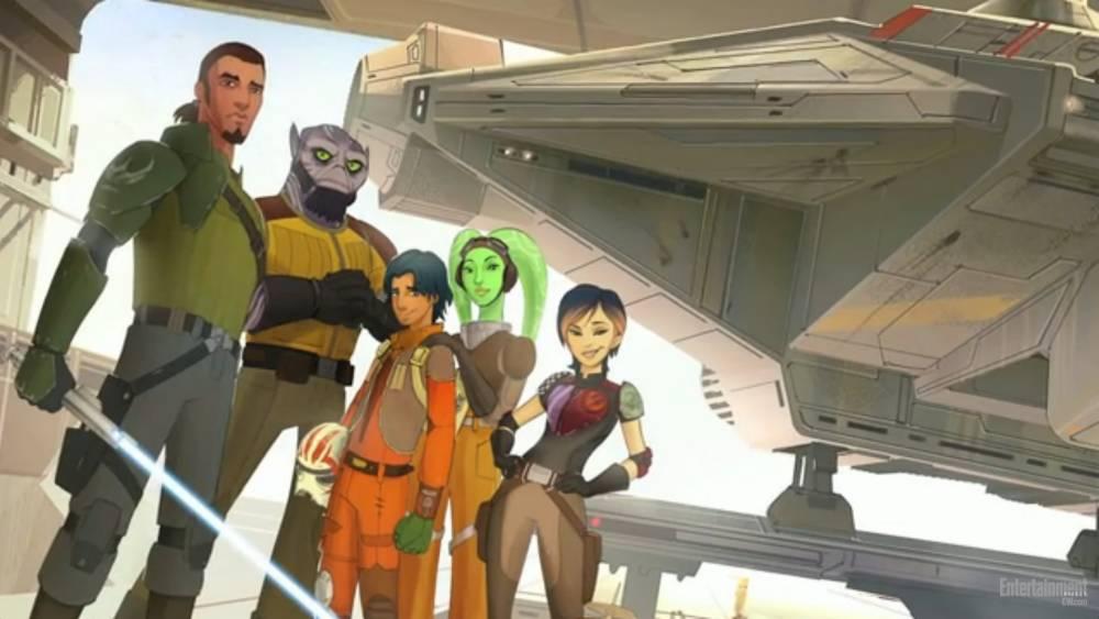 Star Wars Rebels: Series renewed for second season before first premieres