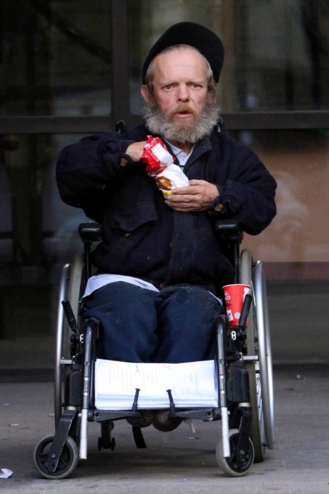 Ian Salter-Bromley, 54, of Anlaby Road, Hull, given a 21-day suspended prison sentence for being in contempt of a court injunction. He carried out a public dirty protest in the Wilson Centre, Hull ,in protest that his dwarf needs  are not being met by the council. See story Hull News and Pictures