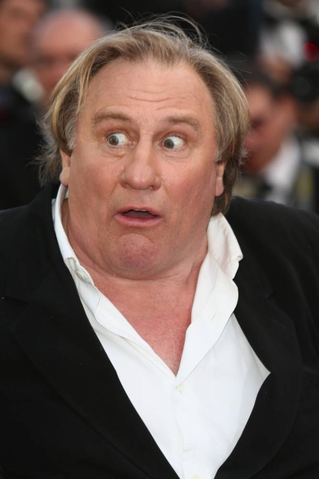"CANNES, FRANCE - MAY 18:  Actor Gerard Depardieu attends ""The Expendables 3"" premiere during the 67th Annual Cannes Film Festival on May 18, 2014 in Cannes, France.  (Photo by Tim P. Whitby/Getty Images)"