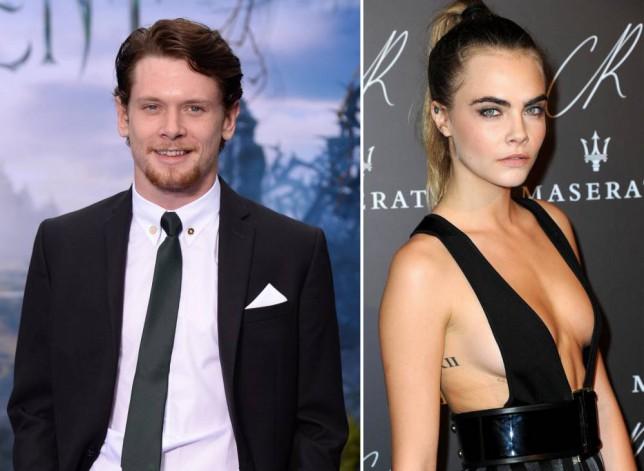 Cara Delevingne is 'dating Tulisa's ex Jack O'Connell' after working on film together