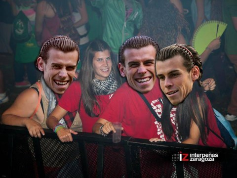 This Spanish girl in a nightclub looks so much like Real Madrid winger Gareth Bale