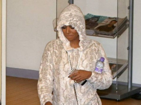 Mel B ditches the X Factor glamour to snuggle in onesie on way home as first live show takes its toll