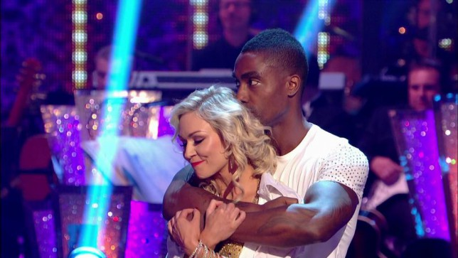 Strictly Come Dancing 2014: Simon Webbe, Kristina Rihanoff (Picture: BBC)