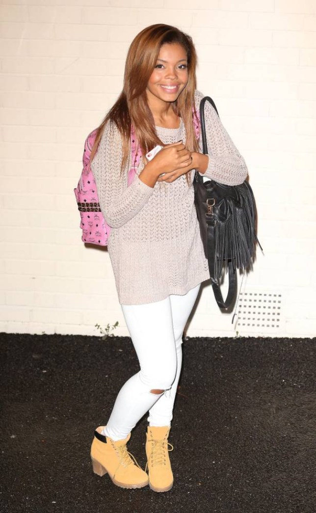 12.OCTOBER.2014 - LONDON  - UK STEPHANIE NALA  CELEBRITY JUDGES AND CONTESTANTS PICTURED LEAVING THE X FACTOR STUDIOS IN LONDON  BYLINE MUST READ : XPOSUREPHOTOS.COM ***UK CLIENTS - PICTURES CONTAINING CHILDREN PLEASE PIXELATE FACE PRIOR TO PUBLICATION *** **UK CLIENTS MUST CALL PRIOR TO TV OR ONLINE USAGE PLEASE TELEPHONE   44 208 344 2007 **