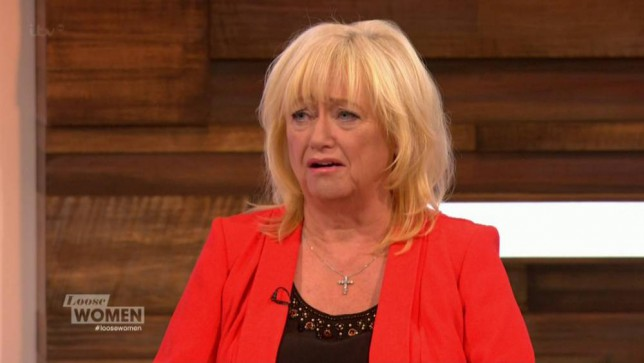 Judy Finnigan, Ched Evans, Loose Women