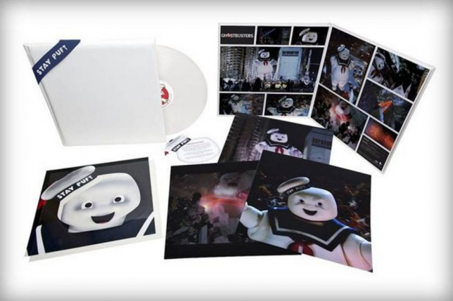 Ghostbusters re-released scented marshmallow vinyl