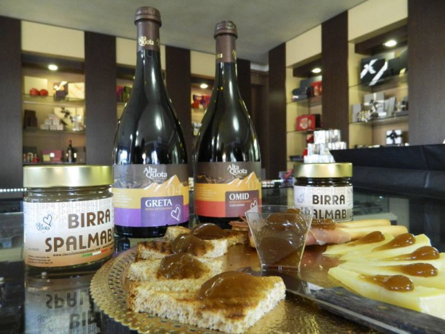 PIC BY MERCURY PRESS (PICTURED: BIRRA SPALMABILE, SPREAD ON A FEW TOASTS AND CHEESES) Forget vodka on your corn flakes - now you can have BEER on TOAST. An Italian brewer claims they've created a new way to combine the most important meal of the day with the nation's favourite tipple. Chocolatier Napoleone and brewery Alta Quota, based in Rieti, north east of Rome, Italy, have produced what they call the world's first spreadable beer. Dubbed Birra Spalmabile the ale-flavoured jelly-like creation comes in two flavours with either a dark or a blonde beer. SEE MERCURY COPY