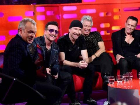 U2's Bono finally comes clean: 'I wear sunglasses because I've got glaucoma'
