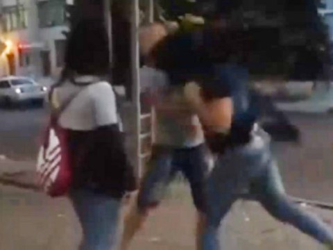Two women KO man with one punch after he asks how much for sex