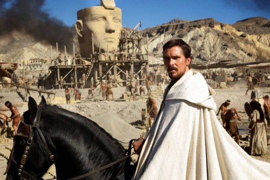 No Merchandising. Editorial Use Only. No Book Cover Usage  Mandatory Credit: Photo by REX (4106370f)  Christian Bale  'Exodus Gods and Kings' Film - 2014