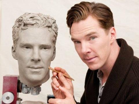 Fan frenzy as lifelike wax figure of Benedict Cumberbatch unveiled