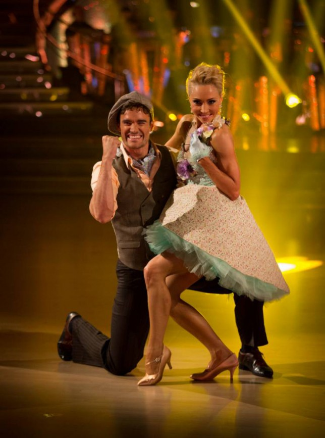 Strictly Come Dancing's Thom Evans: It's easy to pretend Iveta Lukosiute is my dream girl