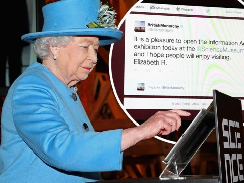 Queen gives Twitter royal stamp of approval with first tweet