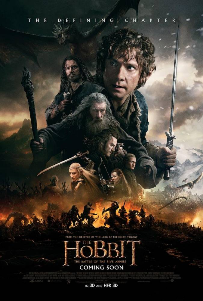 There's going to be a 45-minute battle sequence in the next Hobbit film