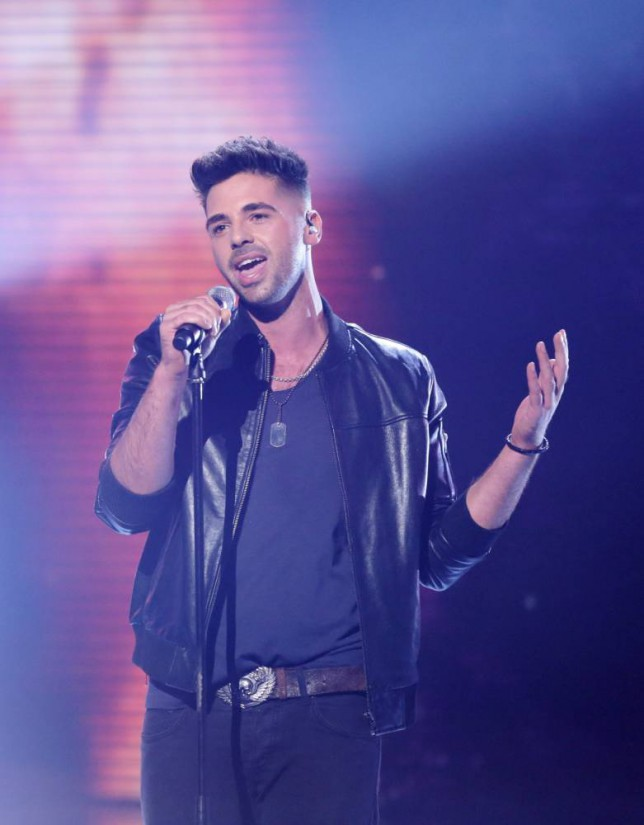 Ben Haenow, The X Factor, The X Factor live shows