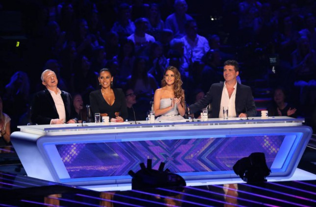 Friends again on the X Factor (Picture: Corbis)
