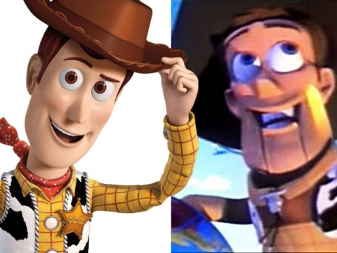Click to reveal the horrible original versions of cartoon characters you know and love