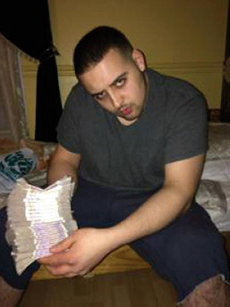 BEST QUALITY AVAILABLE Undated handout photo issued by Metropolitan Police of Zakaria Chentouf, 24, holding money, he is being sentenced today for his part in the organised ring dealing cannabis on the streets of Ladbroke Grove in West London. PRESS ASSOCIATION Photo. Issue date: Wednesday October 29, 2014. See PA story COURTS Gang. Photo credit should read: Metropolitan Police/PA Wire NOTE TO EDITORS: This handout photo may only be used in for editorial reporting purposes for the contemporaneous illustration of events, things or the people in the image or facts mentioned in the caption. Reuse of the picture may require further permission from the copyright holder.