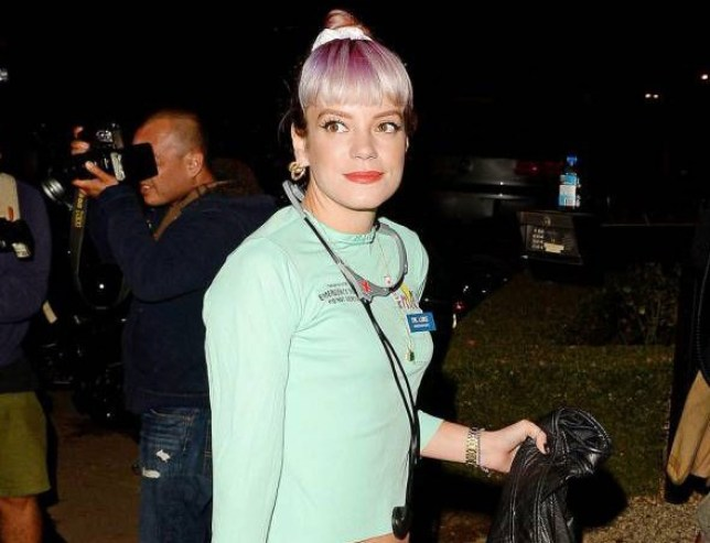 45472d647a1cf6 Lily Allen reveals emotional song Something's Not Right was inspired by  stillborn son