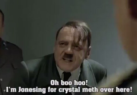 Breaking Very Very Bad – meth-addicted Hitler gets the Downfall parody treatment