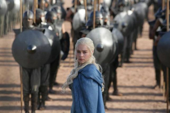 Computer game: Game Of Thrones, Series 3, Featuring Emilia Clarke as Daenerys Targaryen.  © HBO Enterprises