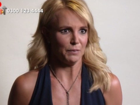 Britney Spears did a pretty naff impression of Andy Murray's girlfriend Kim Sears