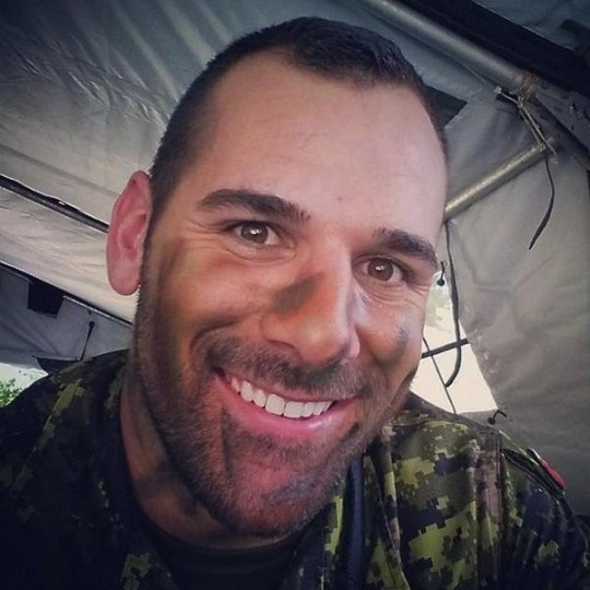 Nathan Cirillo was shot by Michael Zihaf-Bibeau (Picture: Instagram)