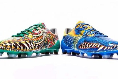 Gareth Bale's new 'dragon' Real Madrid football boots are pretty amazing