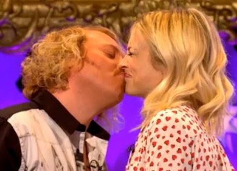 Celebrity Juice: The unthinkable has happened as Keith Lemon and Fearne Cotton share kiss