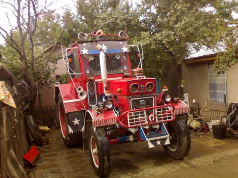 X-Tractor: Farmer becomes local celebrity after pimping out tractor to attract women