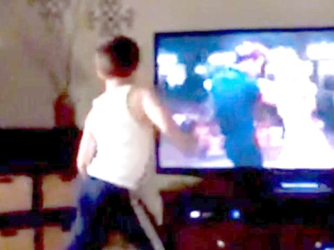 Cute alert: This little boy dancing his socks off to Dirty Dancing will blow your mind