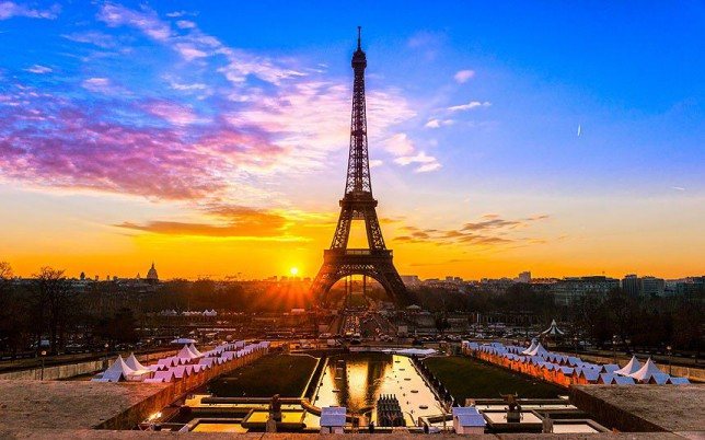 Ahh... Paris. Enjoying an extra few days off to us (Picture: Alamy)